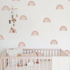 Rainbow Wall Decals Hand Drawn Rainbow Wall Sticker Boho Etsy In 2020 Rainbow Wall Decal Rainbow Wall Stickers Kids Room Decals