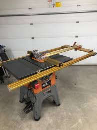 Ridgid R4512 Table Saw With Incra Ts Ls Fence Woodworking