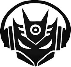 Amazon Com Decepticon Music Dj Laptop Car Window Wall Decoration Decal Sticker Home Audio Theater