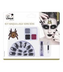 witch makeup kit confetti box