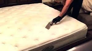 get blood out of mattress