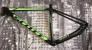 Scott Bike Frame Decal Sets