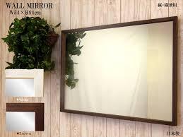 mirror antique wall mirror wooden frame