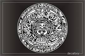 Aztec Calendar Decal