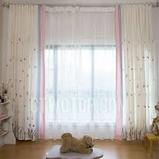 Cute Butterfly Dragonfly Curtains Pink Teen Girls Drapes Bedroom Design