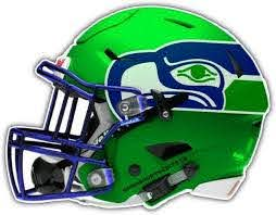 Seattle Seahawks Nfl Helmet Car Bumper Sticker Decal 5 X 4 Amazon Ca Home Kitchen