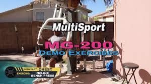dr gene james multisports mg 200 you