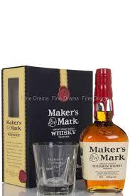 maker s mark bourbon whisky gift pack