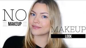 the real no makeup makeup look how
