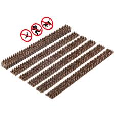 10pcs Anti Climb Spikes Wide Plastic Fence Wall Security Defender Spikes Bird Deterrent Cat Repellent Prickle Strips Set Buy Fence Wall Spike Plastic Bird Spike Defender Spike Product On Alibaba Com