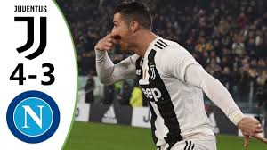 Juventus vs Napoli 4-3 Highlights & Goals HD 2019 - YouTube