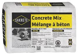 Sakrete 11011130 General Purpose High Strength Concrete Mix 30 Kg Powder Form 12 13 Ph