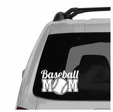 Baseball Mom Decal Br Only 3 Left