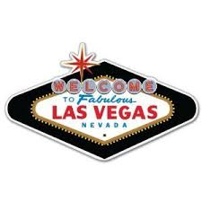 Las Vegas Nevada Car Bumper Sticker Decal 5 X 3