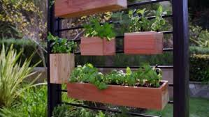 How To Make A Vertical Herb Garden From A Fence Diy
