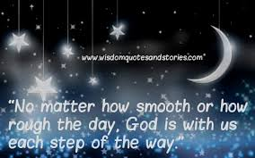 god is us each step of the way wisdom quotes stories