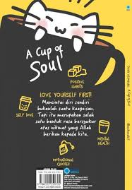 buku a cup of soul full quotes berwarna bukukita