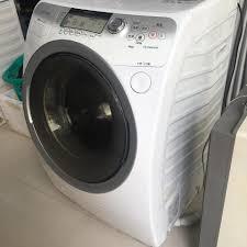 Máy giặt sấy khô Toshiba TW-9000 màn... - Nhật nội địa Quy Nhơn