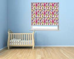Rb198 Kids Room Roller Blind Owl Pattern Ebay