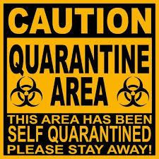 Image result for self quarantine