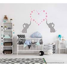 Elephant Bubbles 3 Vinyl Wall Decal Custom Nursery Room Decor Choose Elephant And Bubble Color Makes A Great Baby Shower Gift Svcst Org