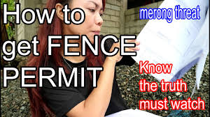 How To Get A Fencing Permit In The Philippines Lapu Lapu City You Must Know The Truth Youtube
