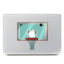Buy T059 Cool Basketball Hoop Board Vinyl Decal Laptop Stickers For Apple Macbook Air 11 11 6 Inch Laptop Skin Cover In Cheap Price On Alibaba Com
