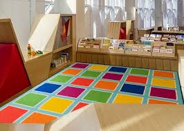 Deerlux Colorful Kids Classroom Seating Area Rug Multicolor Blocks 8 X 10 Ft Large Quickway Imports Inc