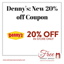 denny s new 20 off coupon