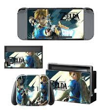 Nintendoswitch Sticker The Legend Of Zelda Wrap Skin Decal For Nintendo Switch Full Set Faceplate Stickers Console Joy Con Dock Stickers Aliexpress