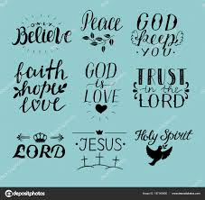 bible quotes in calligraphy set of hand lettering christian