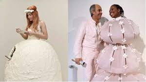 9 of the craziest wedding dresses you