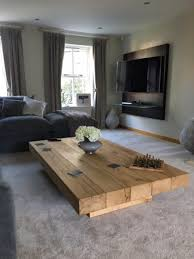 chunky wood coffee table abacus tables
