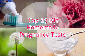 top 23 homemade pregnancy test diy