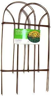 Amazon Com Nifty Grower 32 X 10 Folding Fence Outdoor Decorative Fences Garden Outdoor