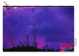 Purple Rain Carry-all Pouch for Sale by Keri West