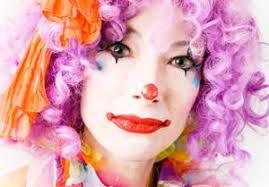 applying basic clown makeup lovetoknow