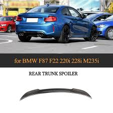 2020 Carbon Fiber Rear Spoiler Wing Cs Style For Bmw 2 Series F22 F87 M2 Base Sedan M Sport Coupe 2014 2019 Spoiler From Blueicetuning 65 33 Dhgate Com