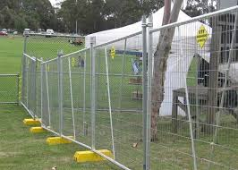 Green Construction Temporary Security Fence Temporary Metal Fencing