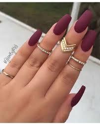 50 amazing burgundy nails you