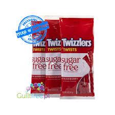 sugar free twizzlers strawberry