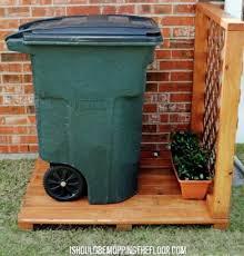 15 Best Looking Ways To Hide Trash Cans Diy Alternative Energy