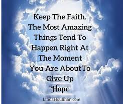 linda houlihan on never give up on your dreams quotes