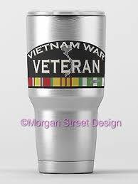 Yeti Vietnam War Veteran Die Cut Vinyl Phone Yeti Decal Sticker Ebay