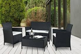 rattan outdoor furniture set garden