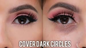 cover dark circles under eye bags