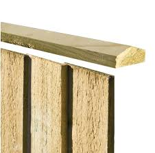 6ft Fence Capping Rail High Quality Fence Capping From A P Fencing