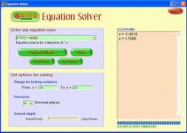 equation calculator equations solver