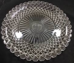 extra large serving platter clear glass