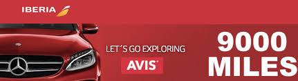 Earn 9000 Iberia Avios Miles For Each 3-Day+ Avis Weekend Rental in Europe  (4th October - 15th December 2018) | LoyaltyLobby